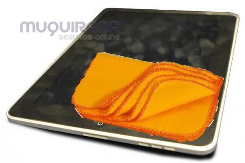 Tire riscos e limpe digitais da tela de smartphones e tablets