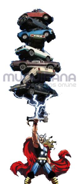 seguro de automóvel contra quedas de raio