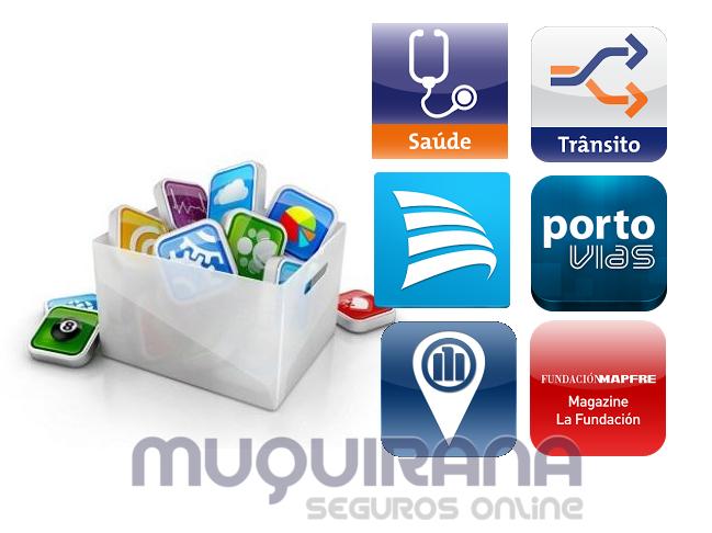 Lista de seguradoras que tem aplicativod para smartphone ou iphone