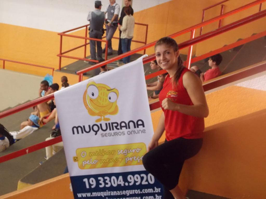 Bruna Ellen é ouro na Seletiva Paulista de Sanda - Muquirana Seguros