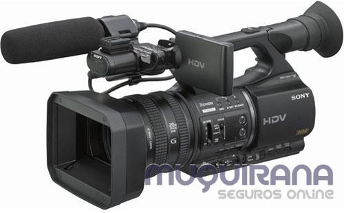 existe seguro de câmera filmadora