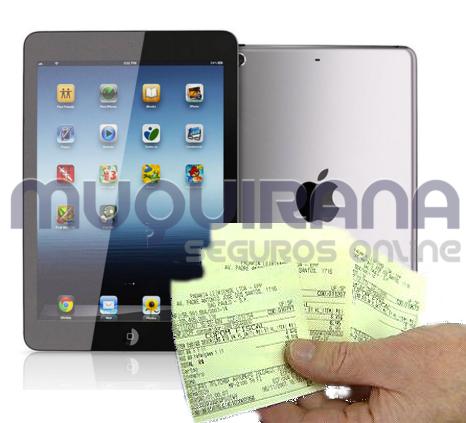 seguro de tablet exige nota fiscal
