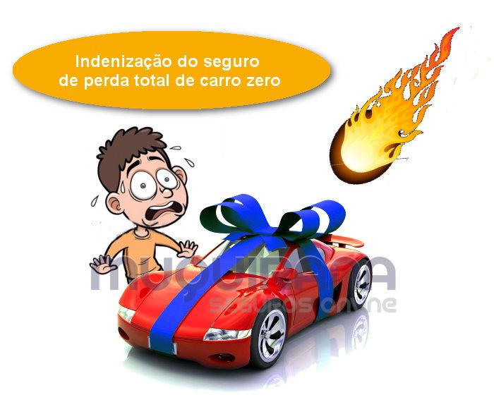Indenização de perda total de carro zero km no seguro auto