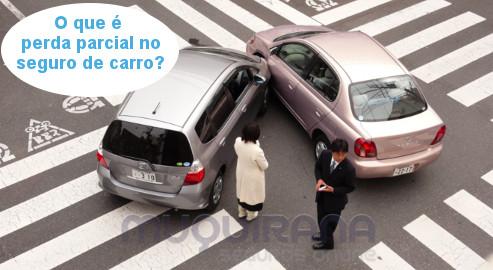 O que é perda parcial no seguro de automóvel