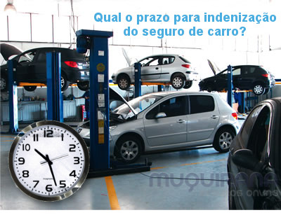 qual o prazo de indenização do seguro de automóvel