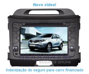 Novo vídeo - Indenização do seguro de automóvel para veículo financiado