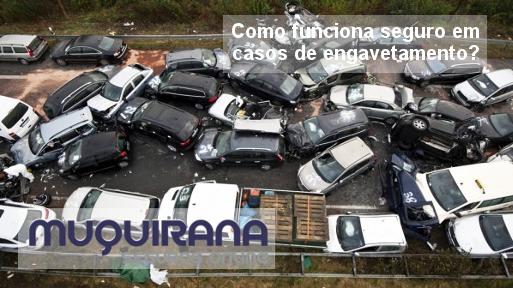 como funciona seguro de automóvel em casos de engavetamento