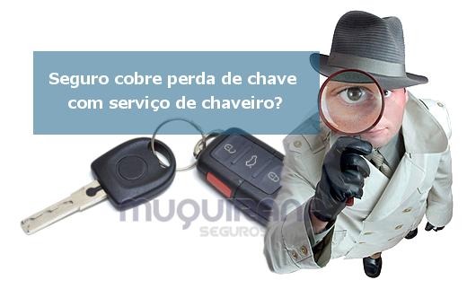seguro de automóvel cobre perda de chave com serviço de chaveiro