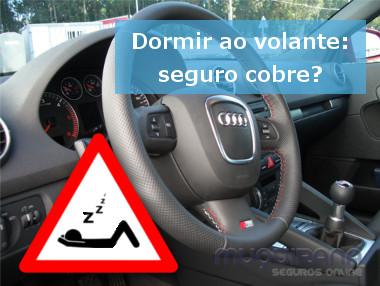 dormir ao volante seguro cobre