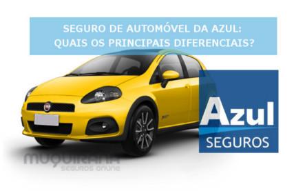 seguro de automóvel azul - quais os principais diferenciais
