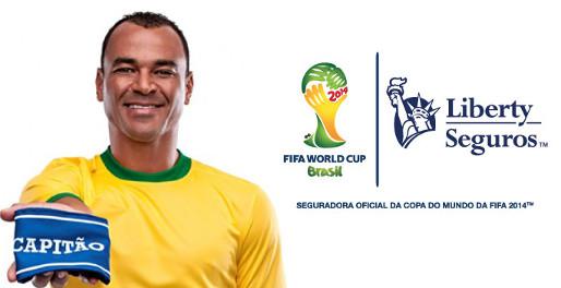 Liberty Seguros é patrocinadora da Copa 2014