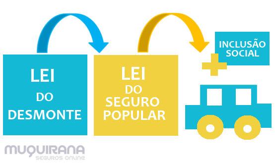 Lei do seguro popular - fluxograma