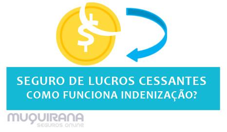 seguro de lucros cessantes como funciona indenização