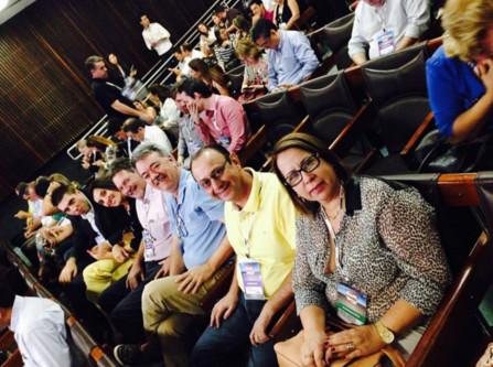 Sócios Grupo Exalt no CONEC 2014 em palestra de Jessica Dalcol
