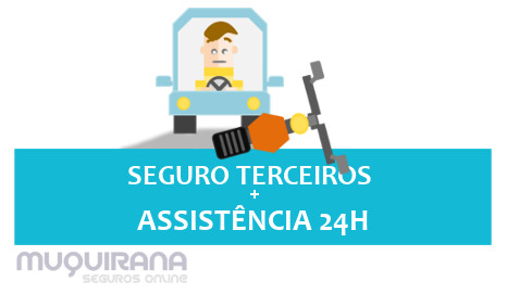 SEGURO TERCEIRO COM ASSISTÊNCIA 24H