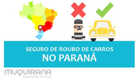 seguro de roubo furto de carro no paraná
