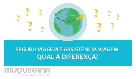 seguro viagem e assistência viagem - qual a diferença