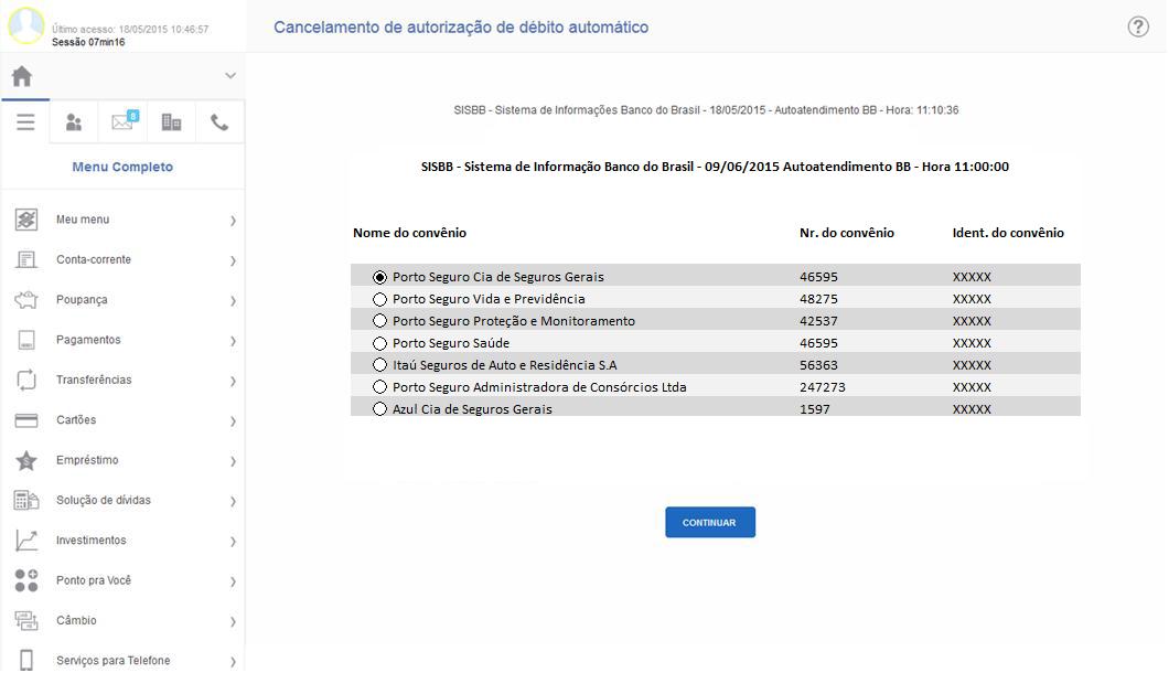 Como desbloquear débito do seguro - Banco do Brasil 2