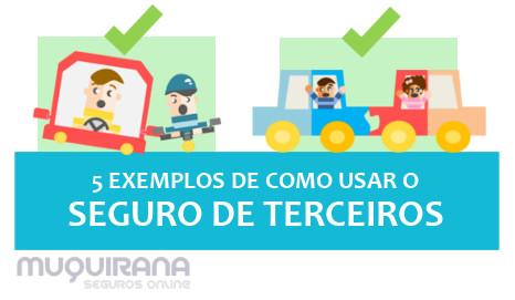 SEGURO DE TERCEIROS - 5 EXEMPLOS DE COMO USAR