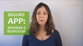 Vídeo - Seguro APP: 5 principais dúvidas e respostas