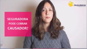 Vídeo - Seguradora pode cobrar causador?